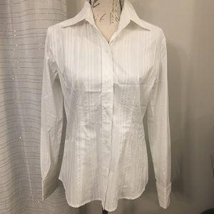 New York & Company Button Down Shirt Size Medium